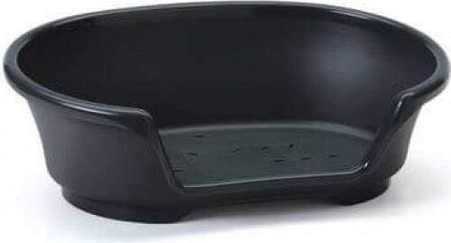 Panier plastique noir pour chien COSY AIR