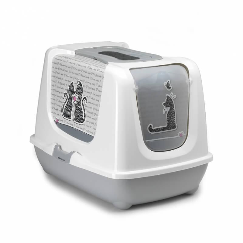 maison de toilette pour grand chat cat s in bac et maison de toilette