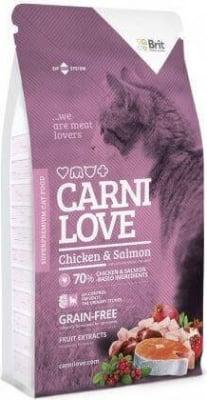 CARNILOVE Cat  pollo & salmón