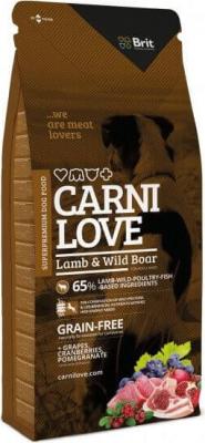 CARNILOVE para perro Lamb  Wild Boar