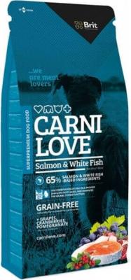 CARNILOVE pour chien Salmon & White fish