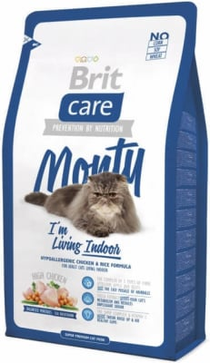 Brit Care Cat Monty I'm Living Indoor au Poulet pour Chat d'Intérieur