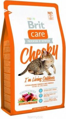 Brit Care Cat Cheeky I'm Living Outdoor para gatos de exterior