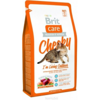 Brit Care Cat Cheeky I'm Living Outdoor au Gibier pour Chat Adulte