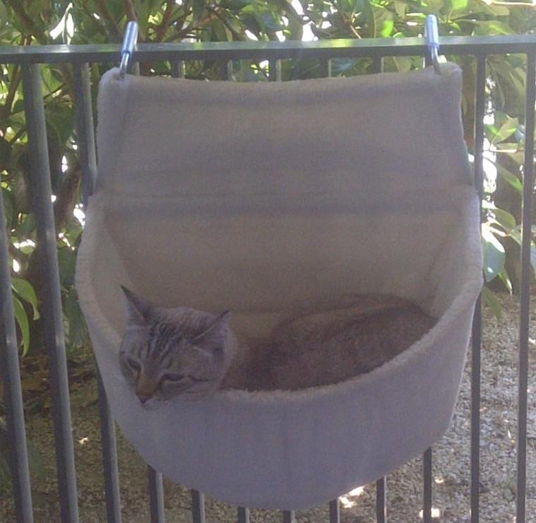 sac confort de radiateur en peluche pour chat couchage pour chat. Black Bedroom Furniture Sets. Home Design Ideas