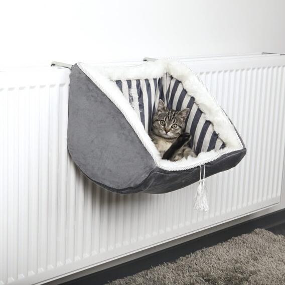 panier chat suspendu radiateur