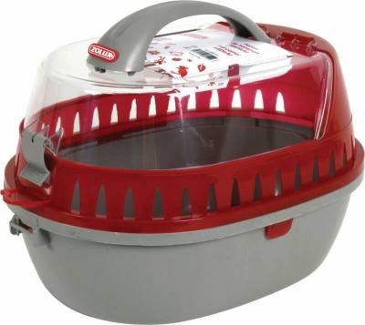Panier de transport plastique rongeur rouge