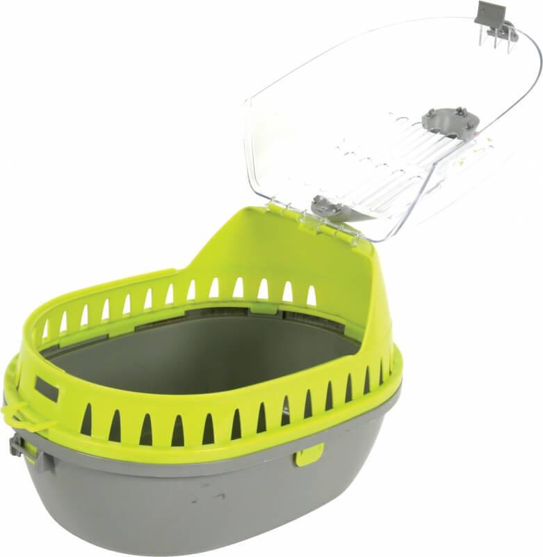 Panier de transport plastique rongeur vert
