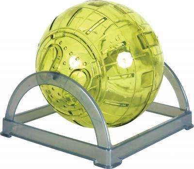 Boule exercice rongeur 2 en 1 verte