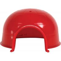 Igloo plastique rongeur rouge