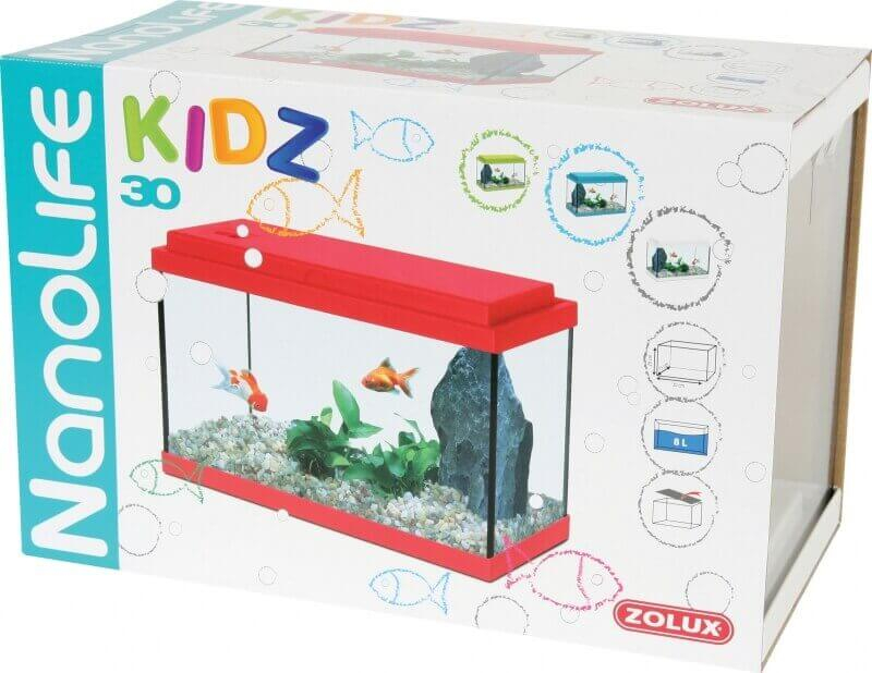 Aquarium NanoLife KIDZ rouge