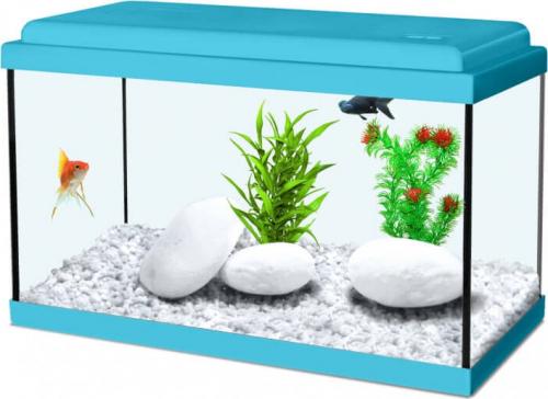 aquarium nanolife kidz in blau. Black Bedroom Furniture Sets. Home Design Ideas