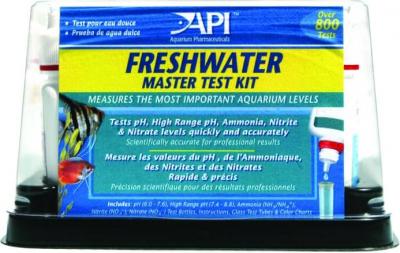 Freshmaster test Kit pour aquarium d'eau douce