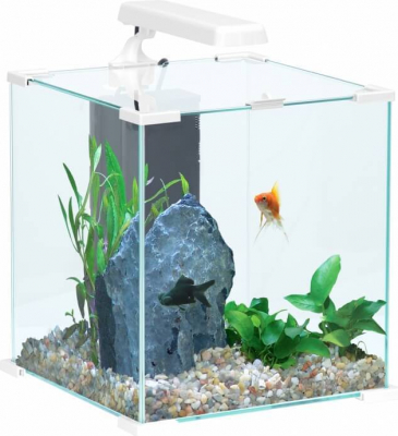 Aquarium Nanolife CUBE blanc