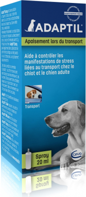 Adaptil Transport Spray anti-stress pour chien
