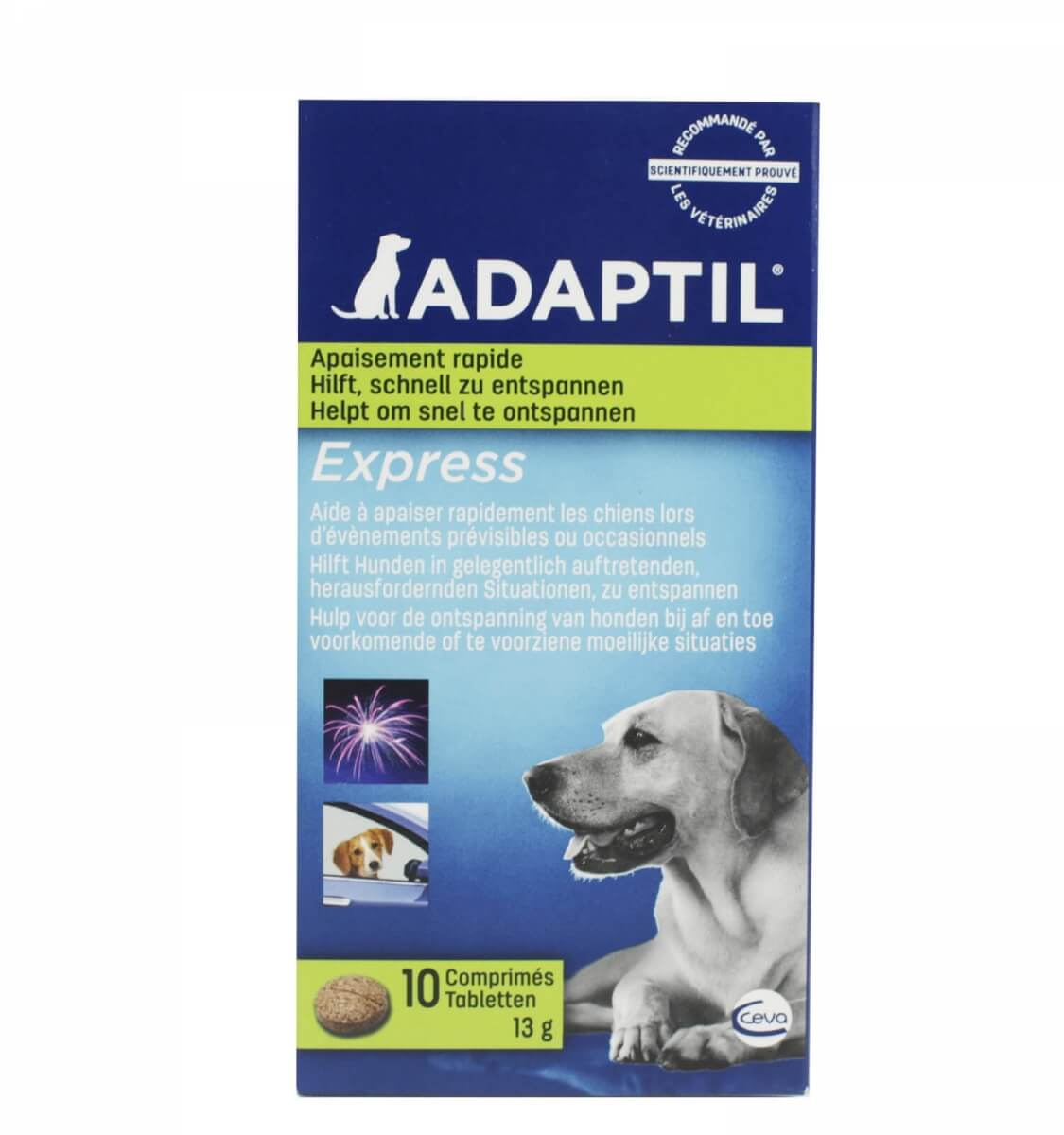 Comprimés ADAPTIL anti-stress pour chien_2