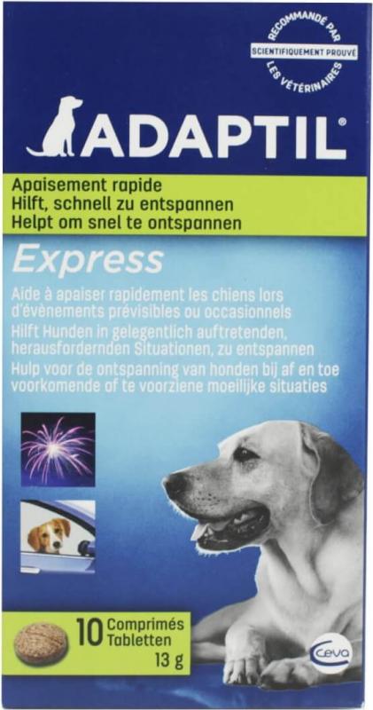 Adaptil Express Comprimés anti-stress pour chien