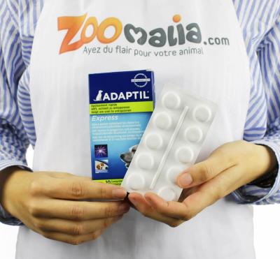 Comprimés ADAPTIL anti-stress pour chien