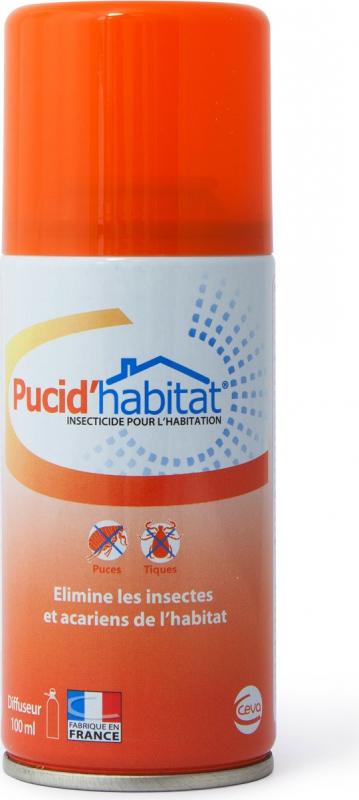 Pucid'Habitat traitement antiparasitaire pour la maison