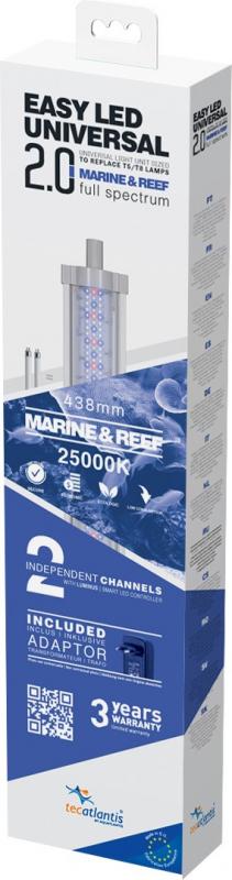 Aquatlantis Easy Led 2.0 Marine & Reef Rampe pour aquarium marin