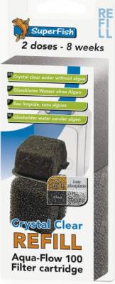 Crystal Clear Cartouches complètes et recharges pour aquaflow 100 et 200