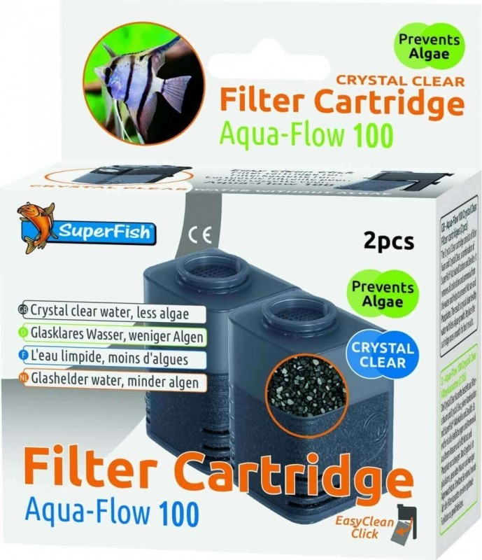 Crystal Clear Cartouches complètes pour filtres Aquaflow
