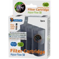 Crystal Clear cartuchos completos para filtros Aquaflow