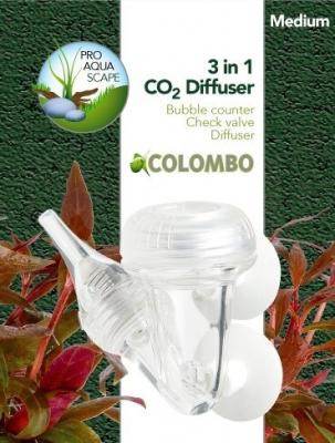 Diffuseur 3-en-1 (medium et large pour systéme CO2)