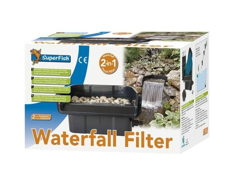 Filtre lame d eau superfish waterfall filter filtre bassin for Accessoire pour bassin d eau