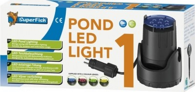 Eclairage d'ambiance Pond Led Light Superfish pour bassin