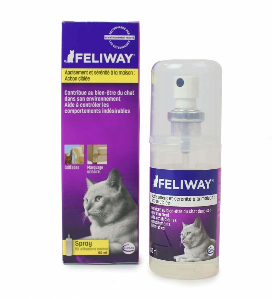 FELIWAY Spray aux phéromones 20ml et 60ml_0