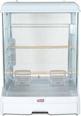 Living World Vision Cage for Small Birds