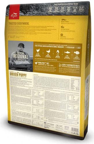 Orijen puppy sans c r ales pour chiot croquettes chien - Croquette sans cereales chiot ...