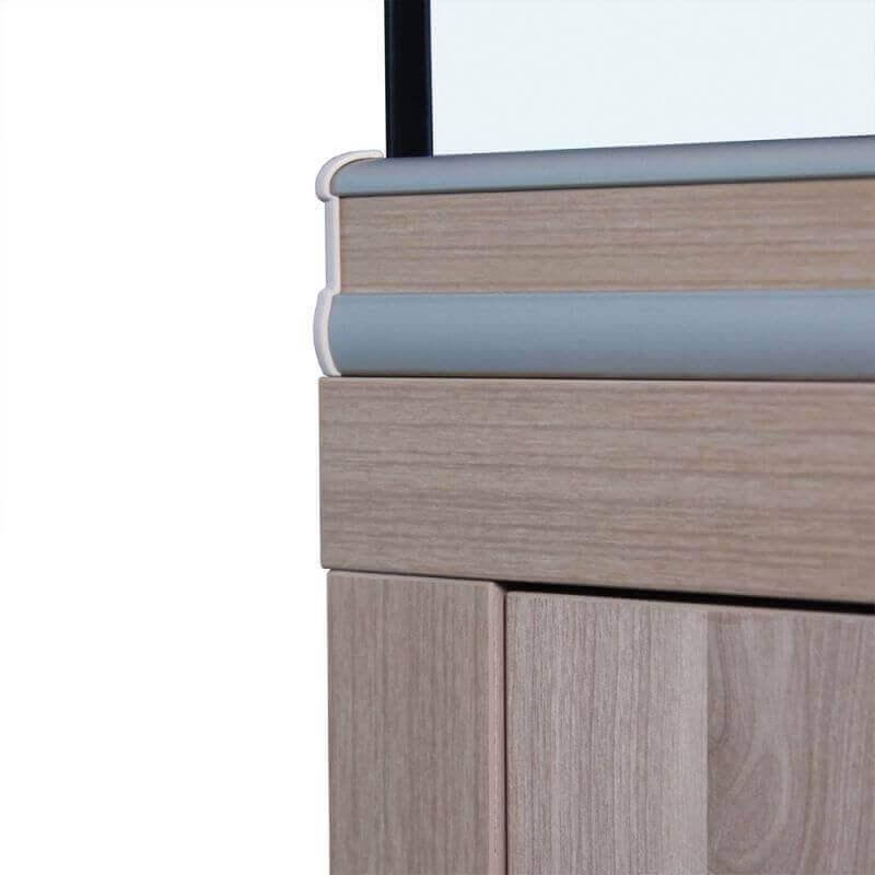Fusion Aquarium Cabinet - Light Walnut_4
