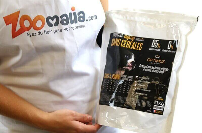 OPTIMUS Sin  Cereales CACHORRO & JUNIOR  para perros de tamaño mediano y grande_5
