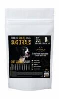OPTIMUS Sin  Cereales CACHORRO & JUNIOR  para perros de tamaño mediano y grande