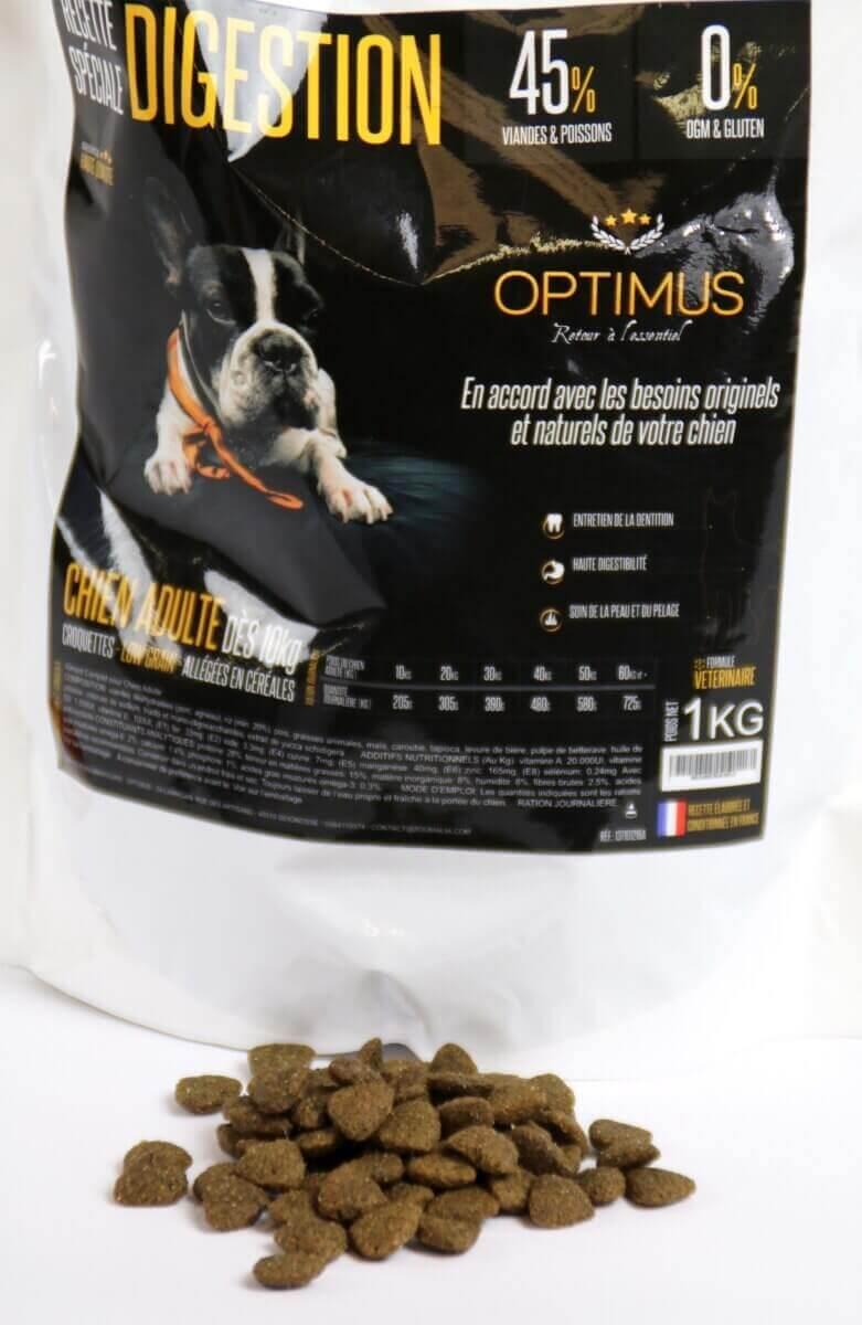 OPTIMUS Low Grain Digestión cordero & arroz  ADULTO _4