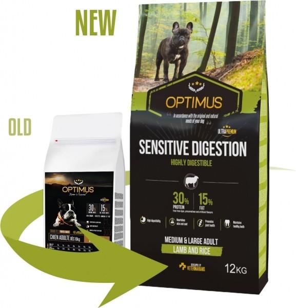 OPTIMUS Sensitive Digestion Cordero & Arroz