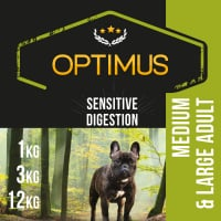 OPTIMUS Sensitive Digestion Agneau & Riz