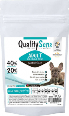 QUALITY SENS Grain-Free Small and Medium Adult