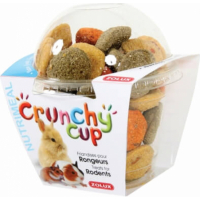 Friandise rongeur Crunchy Cup Nature-Carotte-Luzerne 200G