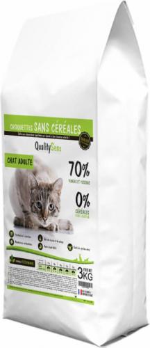 QUALITY SENS Sans Céréales Chat ADULTE