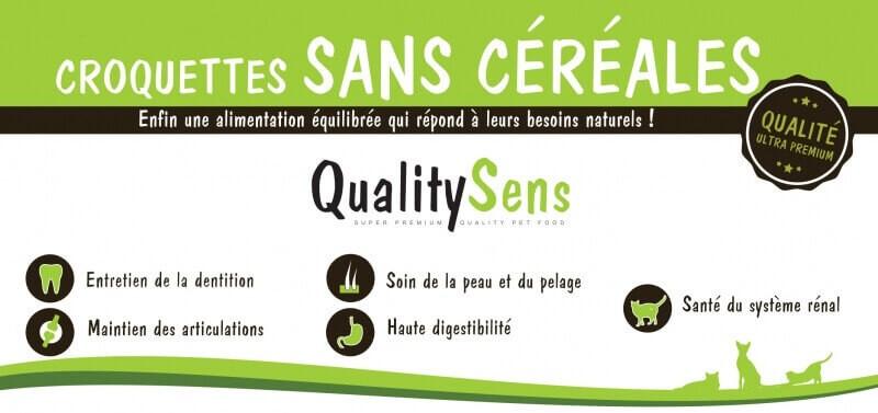 QUALITY SENS Sans Céréales Chat ADULTE_2