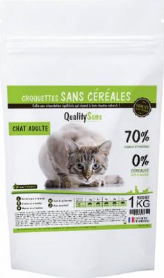 QUALITY SENS Sin Cereales  Gato ADULTO