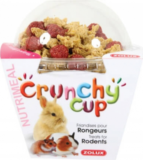 Friandise rongeur Crunchy Cup Nuggets Nature et Betterave 130G