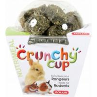 Golosinas para roedores Crunchy Cup Alfalfa y Zanahorias 200 gr.