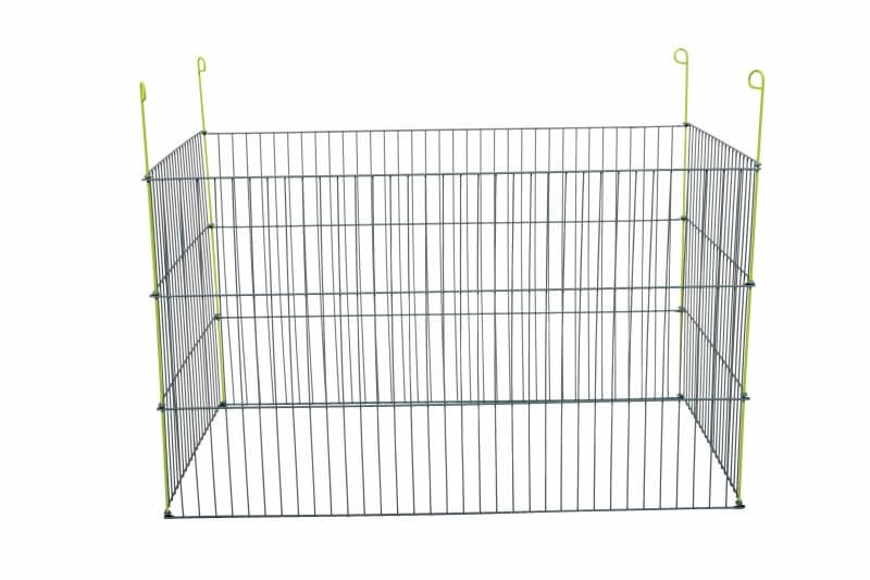 Enclos métal extérieur rectangulaire pour rongeur 1m_1