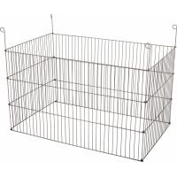 Caixa metálica externa rectangular para roedores 1m