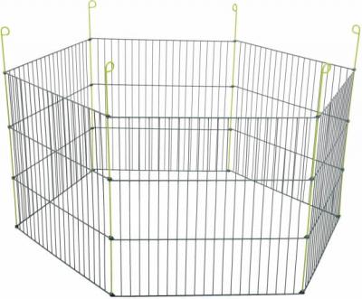 Enclos métal extérieur hexagonal pour rongeur