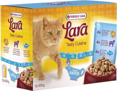 Pack 12 Sachets fraîcheur assortis LARA Tasty Cuisine Sauce MIX